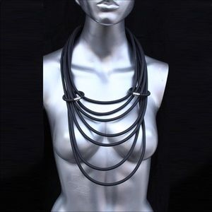 Jewelry - Rubber necklace